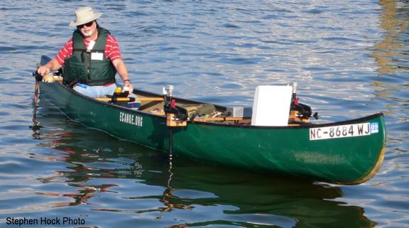 Trolling motors electric trolling motor for canoe for Canoe electric trolling motor